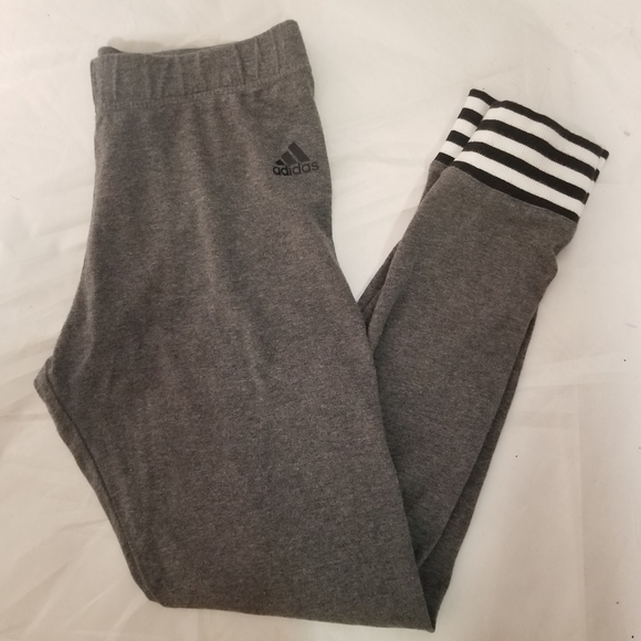 Adidas joggers  with stripes on the ankle
